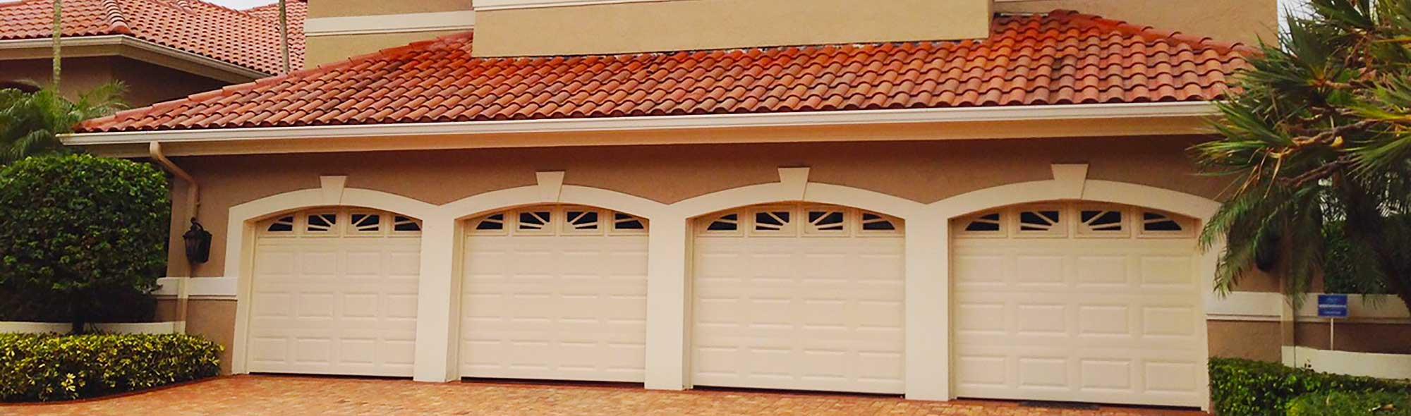Garage door installation repair service near boca raton for Fort lauderdale garage door repair
